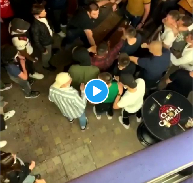 VIDÉO : Une violente bagarre générale a lieu dans le centre-ville du Mans