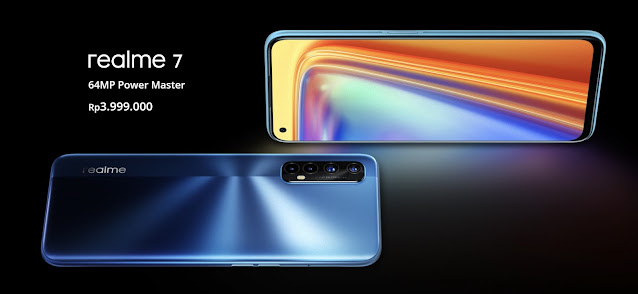 realme 7 64 megapiksel power master