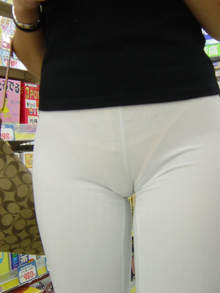 Hot Cameltoe Tights Pants  Tight Pants Girls - Woman In Spandex And -9342