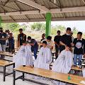 Rader Barber Gelar Pangkas Amal di Dayah Mini Aceh