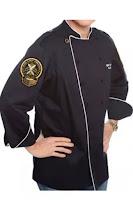 model pakaian chef