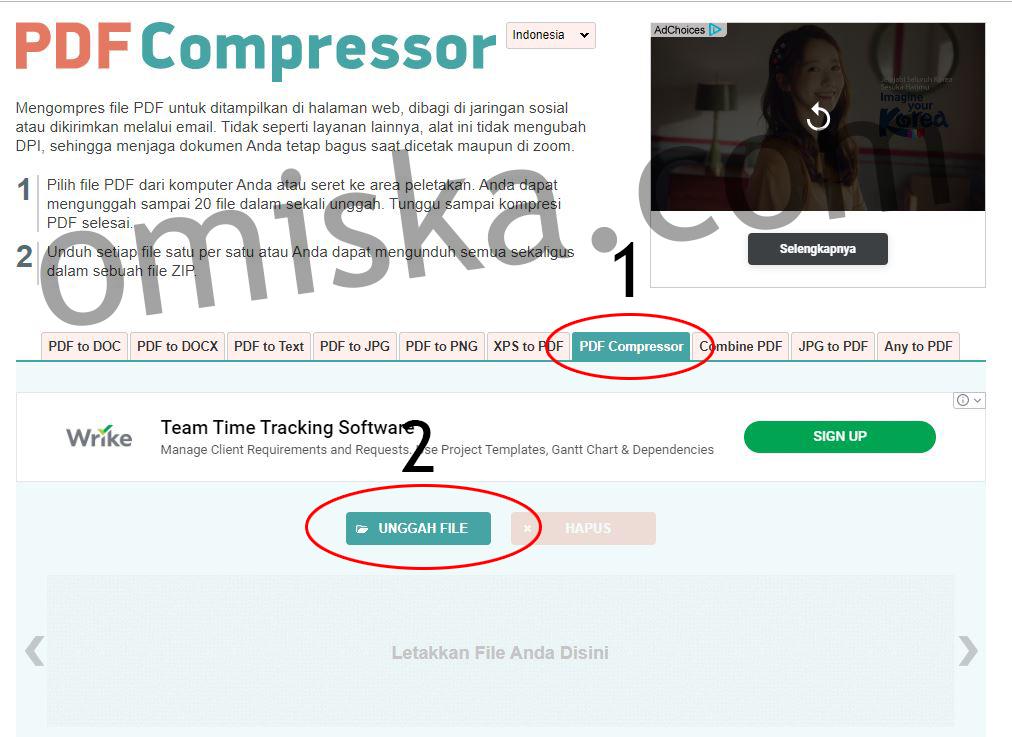 Cara Kompres File Pdf Dengan Mudah Secara Online Untuk Cpns Blog Tutorial Dan Informasiomiska