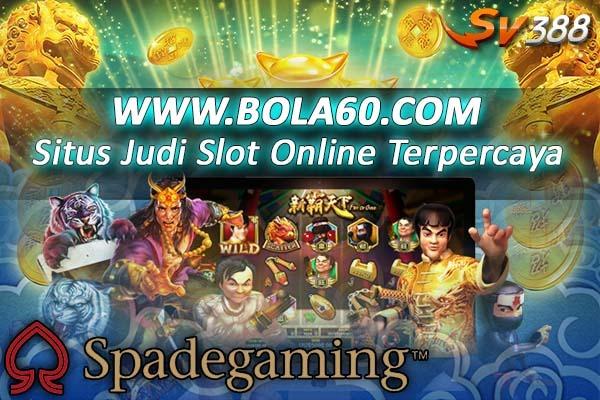 Kini tersedia permainan Spade gaming di Server Sv388