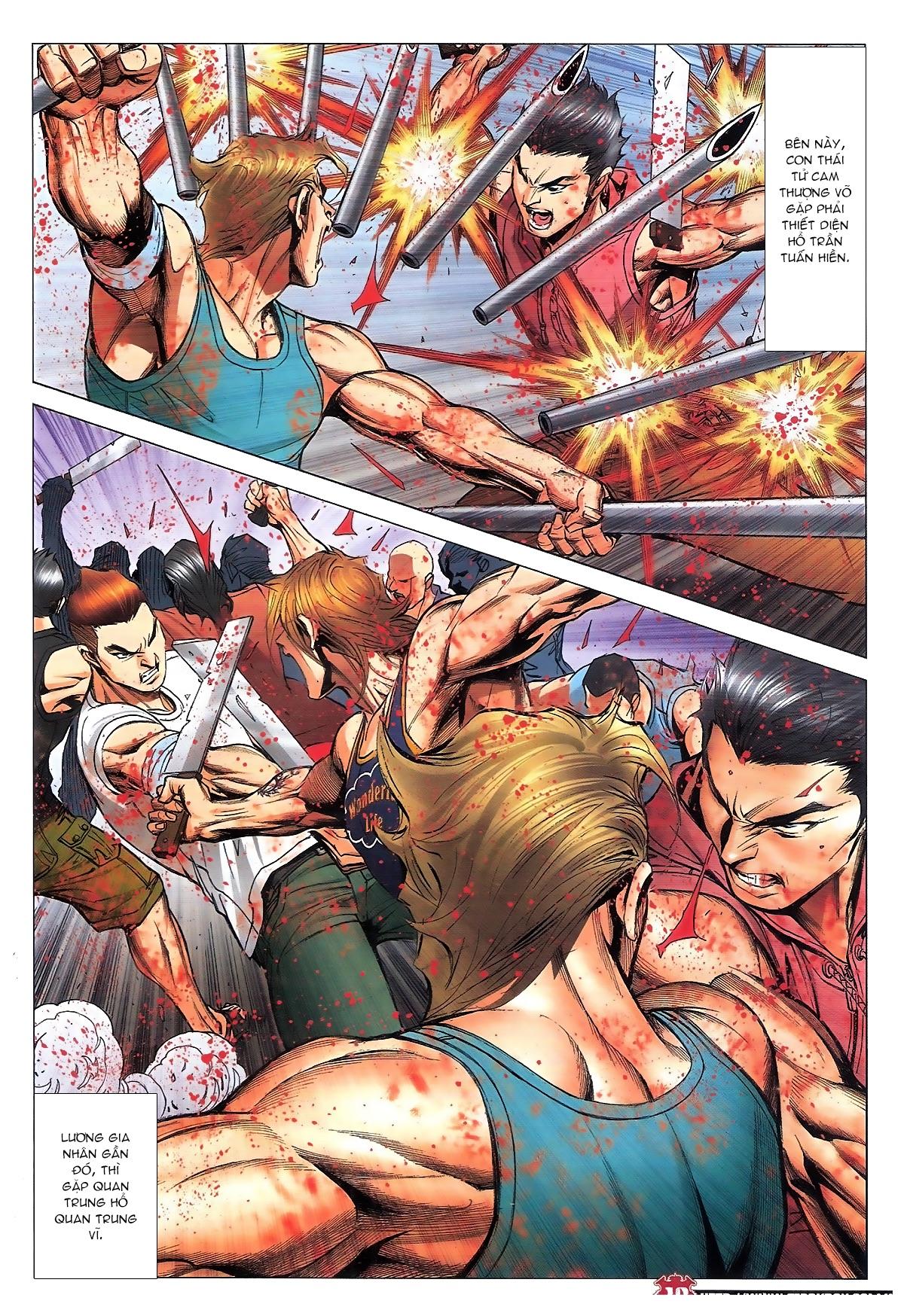 Người Trong Giang Hồ chapter 1840: đại phi ác chiến kim tôn quý trang 16