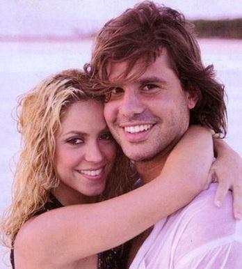 Foto de Shakira y Antonio de la Rúa cuanto todo era felicidad