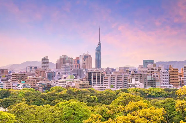 5. Kota Fukuoka