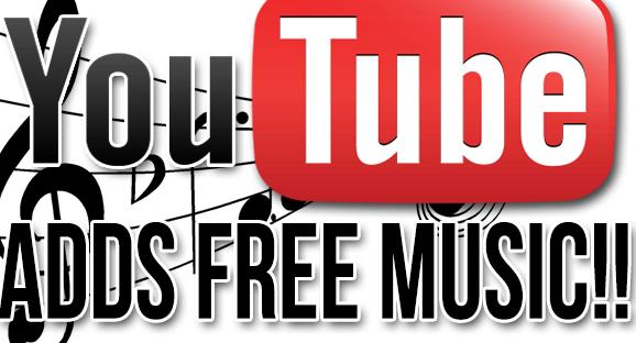 الموسيقى التي يستعملها اليوتيوبرز بدون حقوق