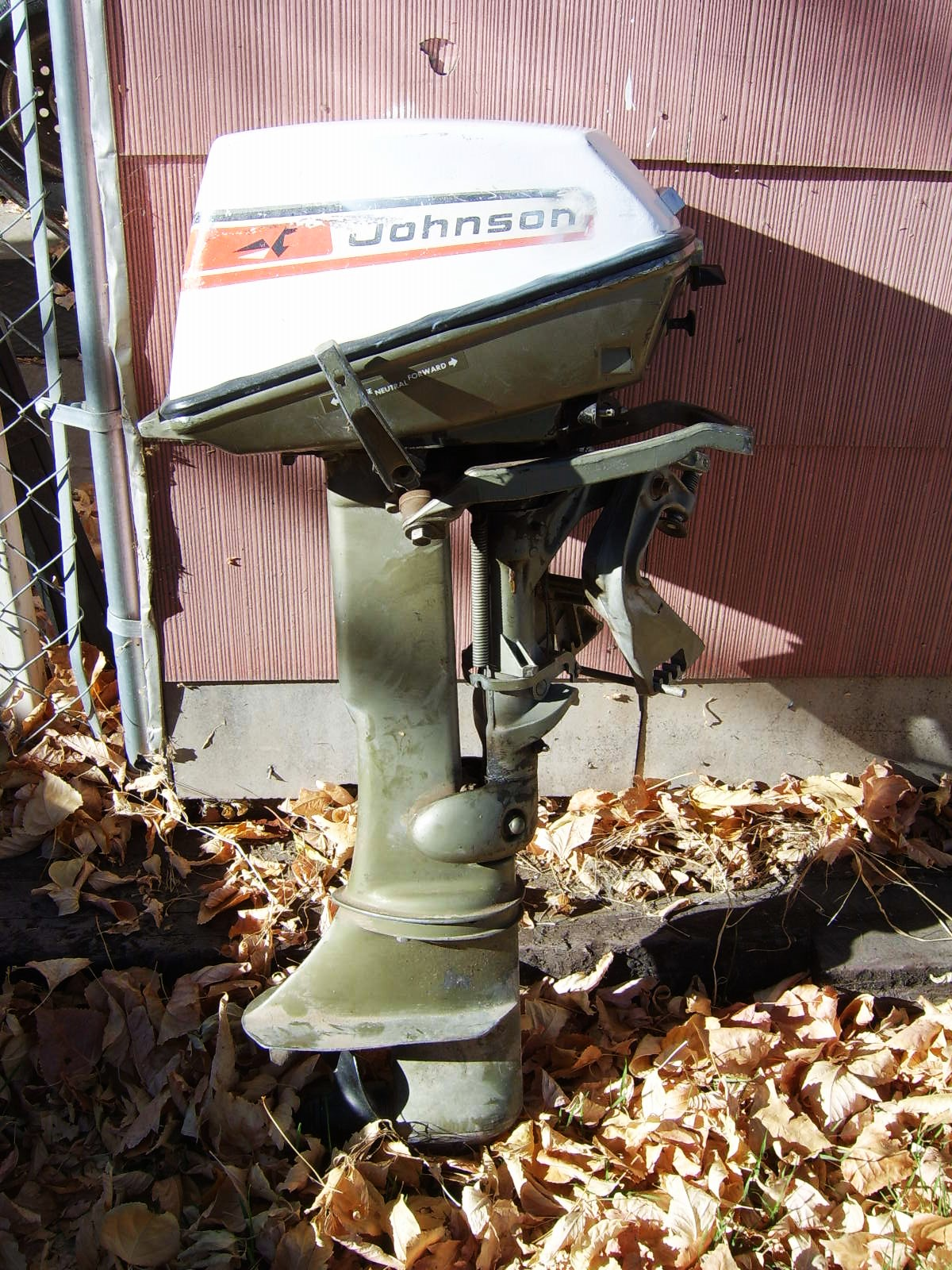 Outboard obsessions nice little johnson find and for Waterwitch outboard motor parts