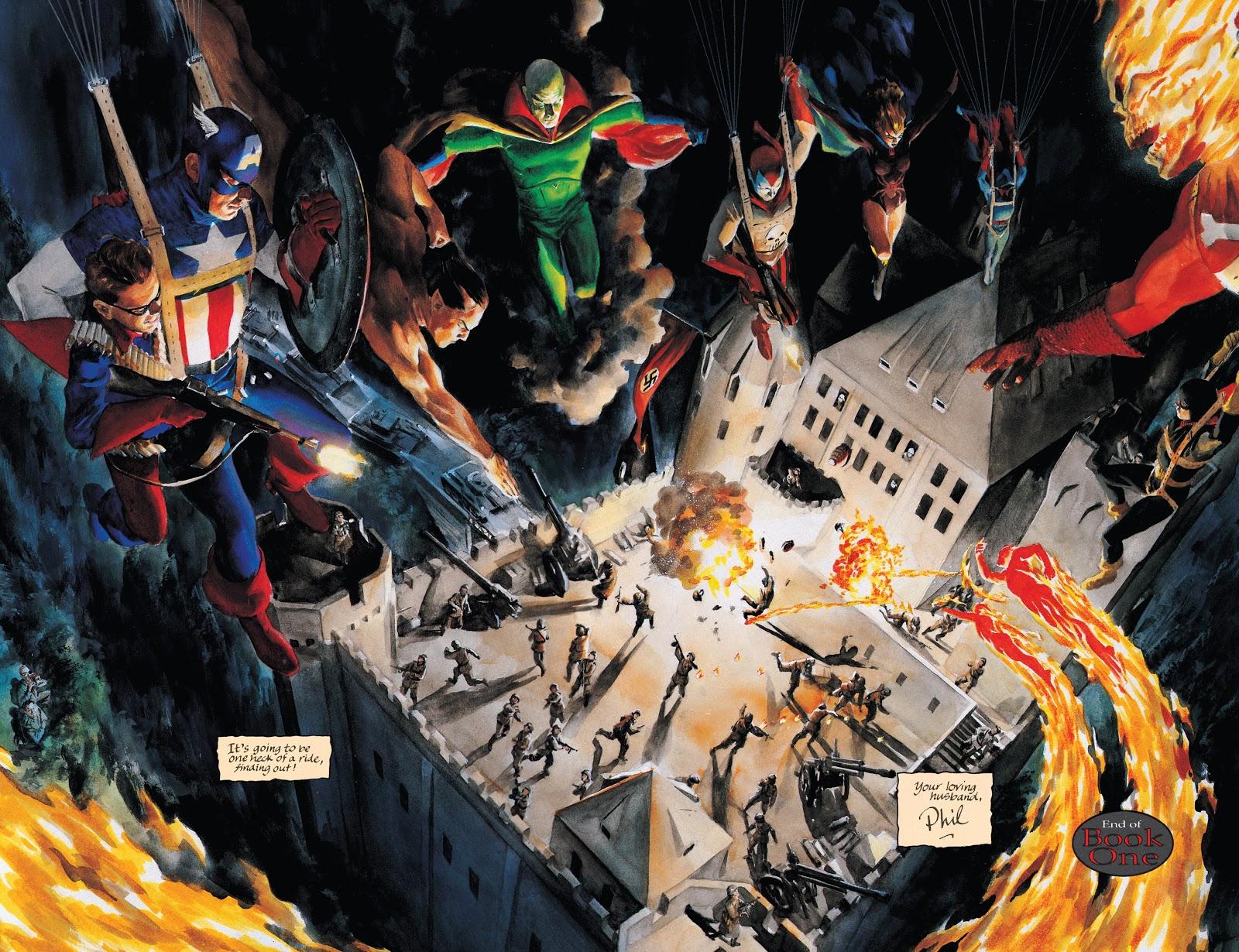 Marvels Kurt Busiek Alex Ross storia 1