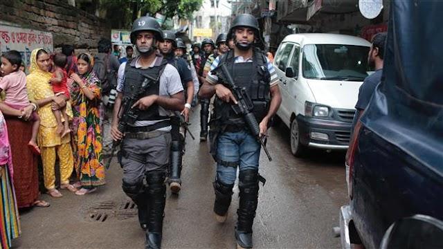Nine suspected militants killed in Dhaka raid: Bangladesh police