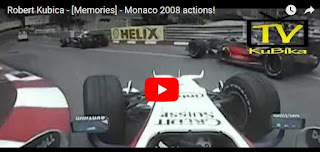 Robert Kubica - [Memories] - Monaco 2008 actions!