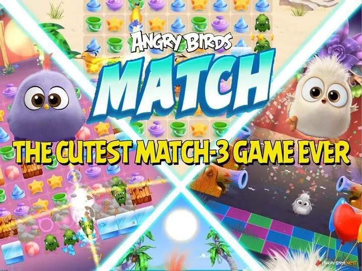 Angry Birds Match 3 Hileli APK