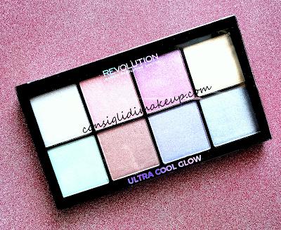 Illuminanti e dove trovarli, la palette Ultra Cool Glow di Makeup Revolution.