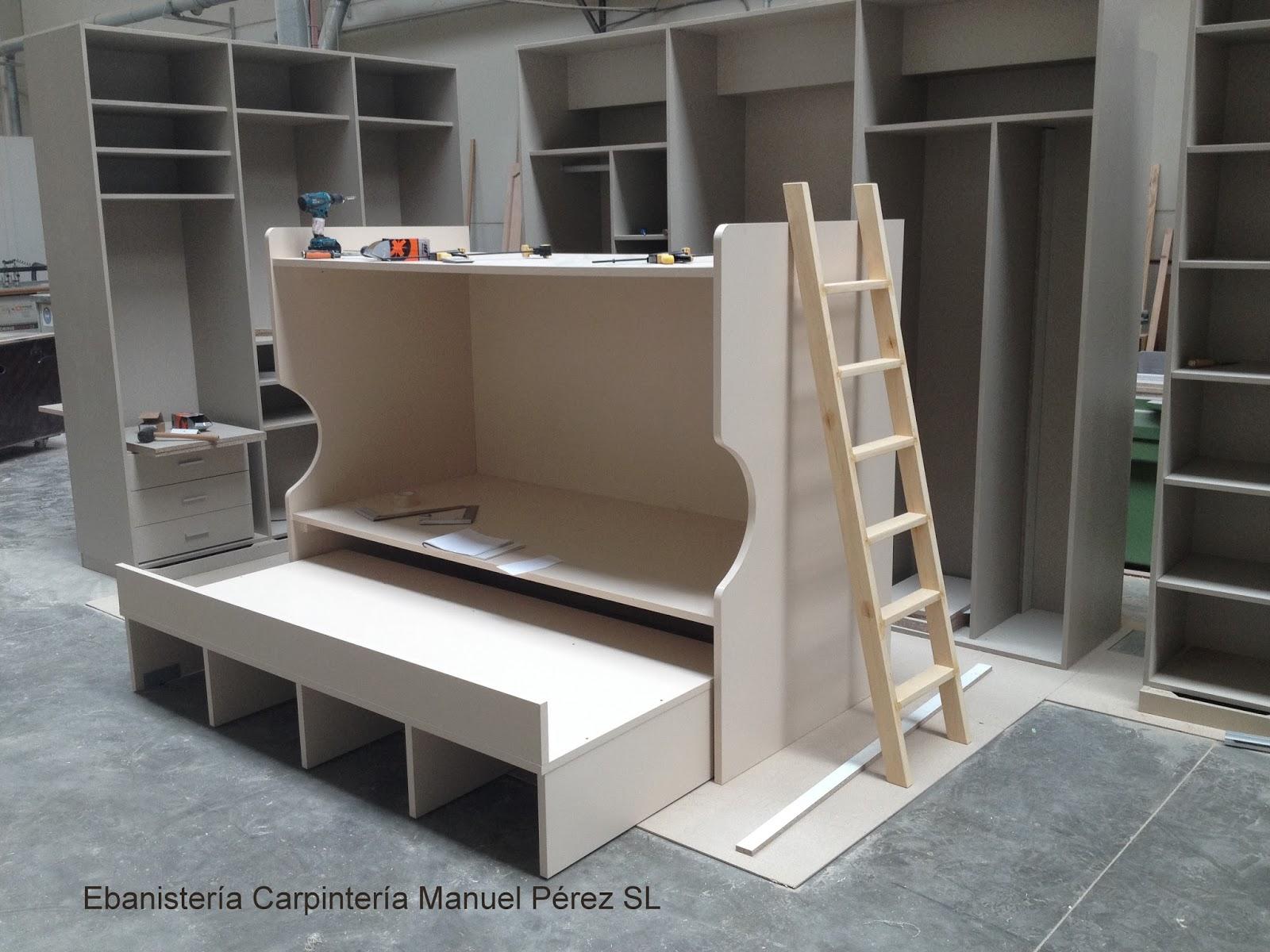 Literas Triple Litera Mixta Triple De Madera Puebla Litera  # Muebles Literas Triples