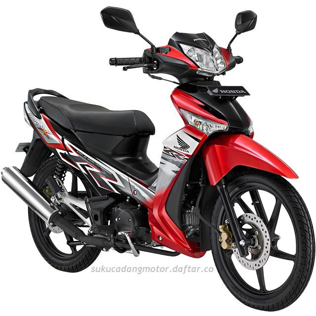 Daftar Harga Spare Part Honda Supra X 125 New (Gen-2) 2008-2013 Batman