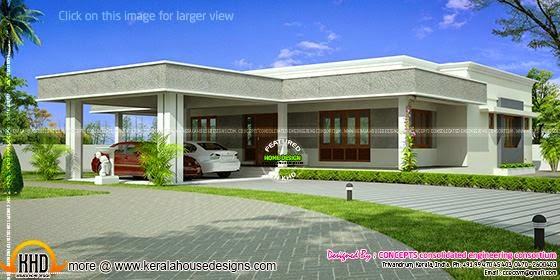 Single storied residence