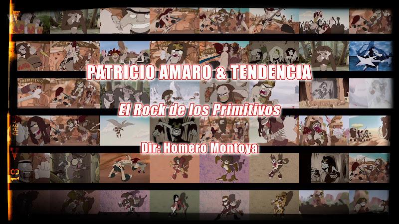 Patricio Amaro & Tendencia - ¨El Rock de los Primitivos¨ - Dibujo Animado - Videoclip - Director: Homero Montoya. Portal Del Vídeo Clip Cubano