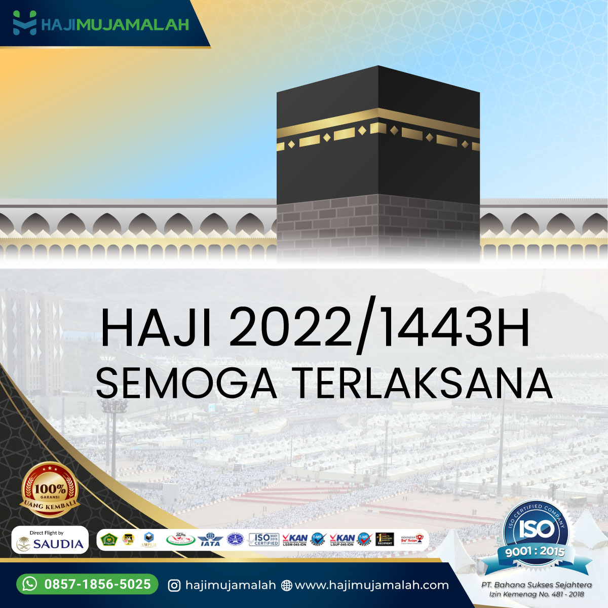 Apakah Haji 2022 Akan Dilaksanakan? Semoga Alhamdulillah