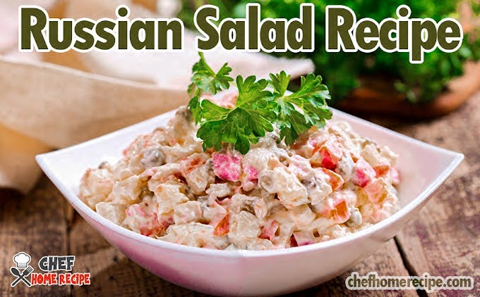 Russian Salad Recipe | How To Make Russian Salad | Russian Salad Ingredients | Russian Salad