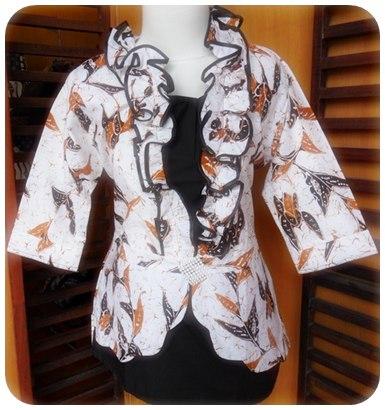 TERBARU Model Baju Batik Kerja Kantor