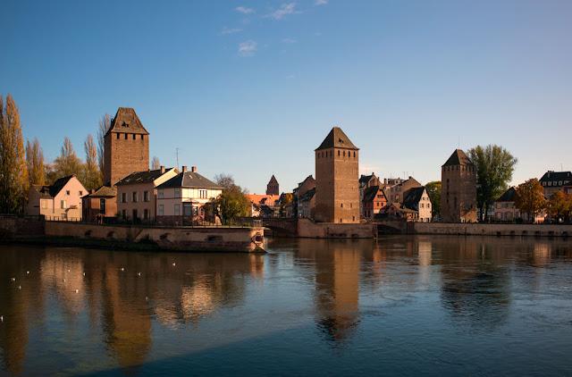 Ponts couverts - Strasbourg (cliché Balliet J.M.)