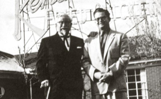 Pete Harman dan Kolonel KFC