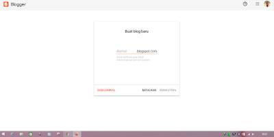 Tutorial Cara Buat Blog Gratis di Blogspot