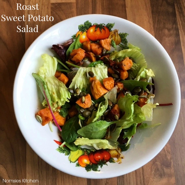 Roast Sweet Potato Salad Recipe from Nomsies Kitchen