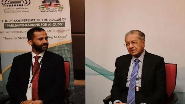Kritik Amerika, Mahathir: Proposal 'Kesepakatan Abad Ini' Kekalkan Penjajahan terhadap Palestina