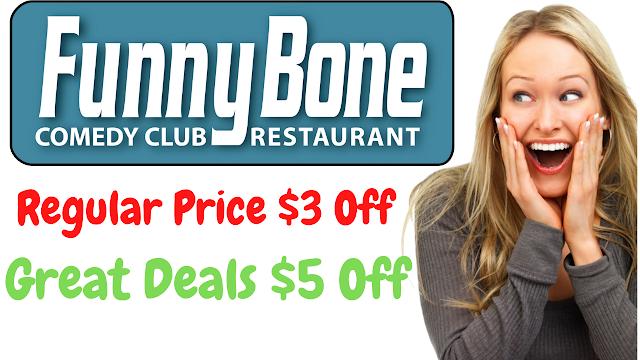 Funny Bone Promo Code - $10 Off w/2022 Coupon