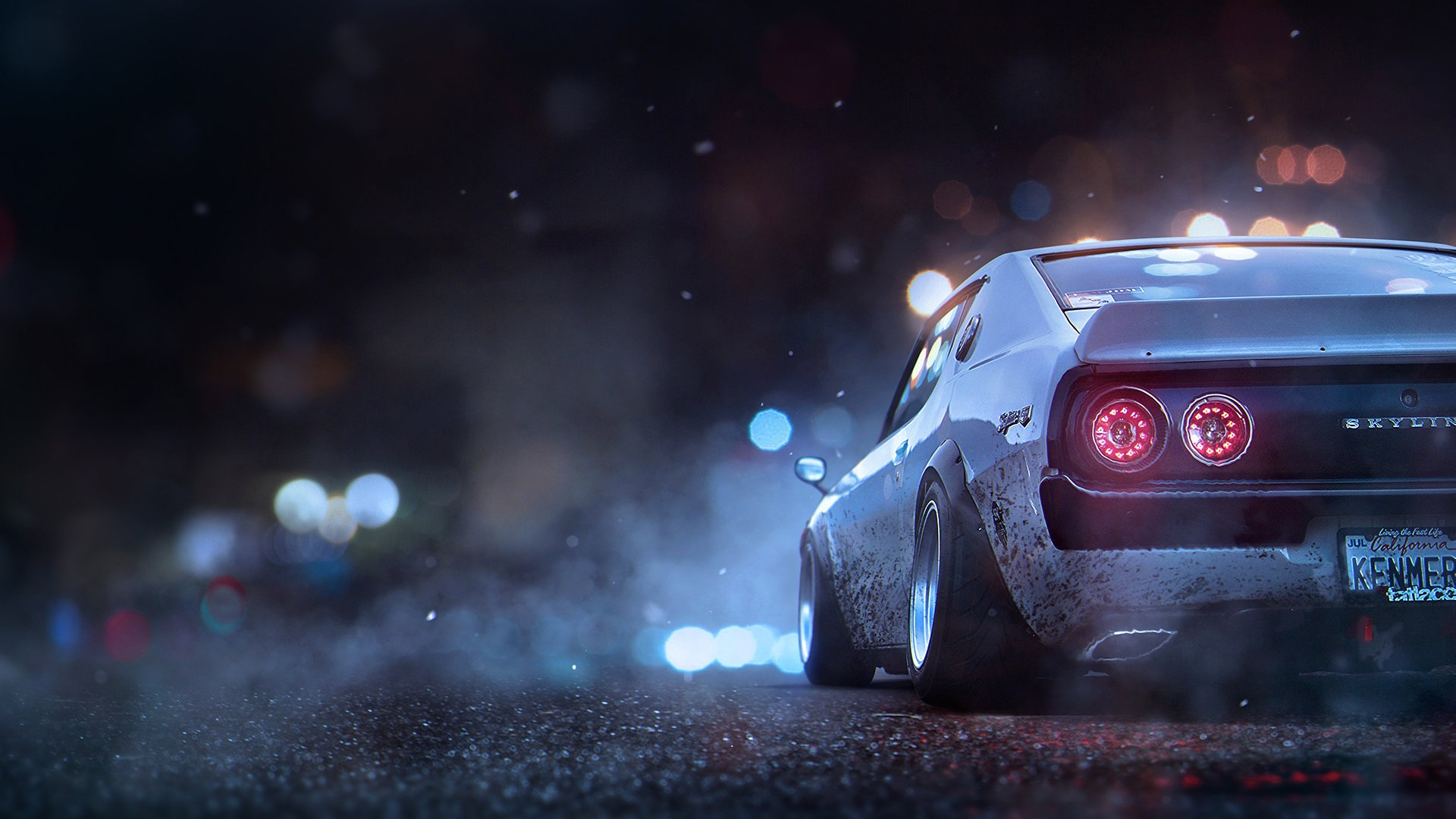 Papel De Parede Carro Tunado Nissan
