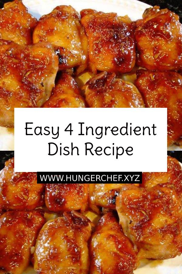 Easy 4 Ingredient Dish Recipe #4ingredients #dish #chickendish #maindish #dinner #easydinner #dinnerrecipe #easyrecipe #easydinnerrecipe #recipeoftheday