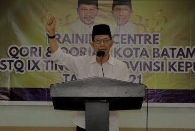 """Buka TC Qori dan Qoriah, Wawako Batam: """"Asalah Minat Anak-anak Kita"""""""