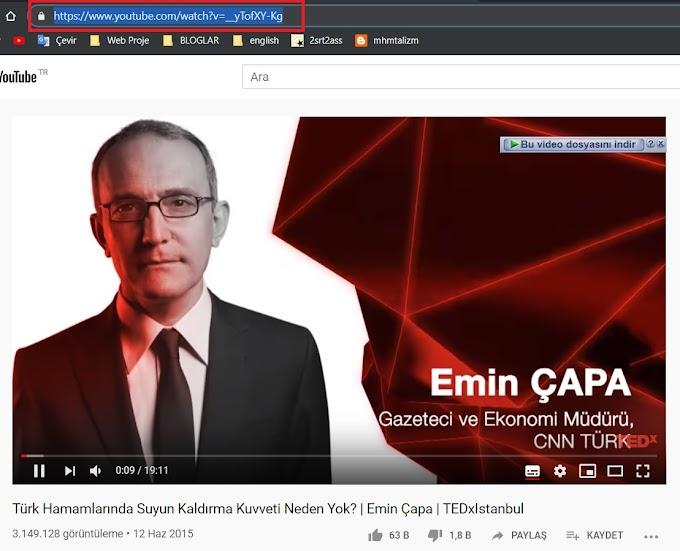 Youtube videoları altyazı indirme programsız kolay