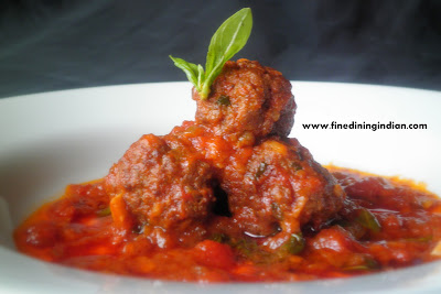 SPICY ITALIAN MEAT BALLS-BEST FOR SPAGHETII,LINGUINI FINE DINING IMAGE-PICTURE