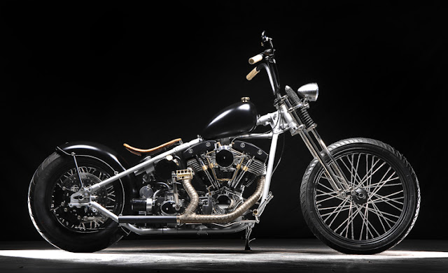 Harley Davidson Shovelhead By Faith Forgotten Choppers Hell Kustom