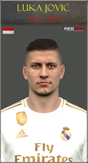 PES 2017 Faces Luka Jovic by Mo Ha