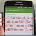 Cara Blokir kontak secara otomatis atau Menolak Panggilan dengan pesan Teks di Samsung Galaxy, begini cara mudahnya