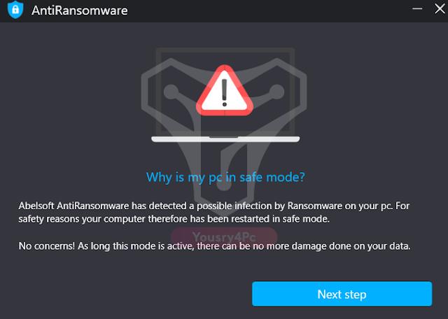 تحميل برنامج Abelssoft AntiRansomware للحماية من فيروسات الفدية - Yousry4pc