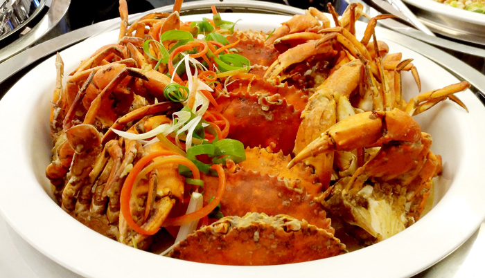 Crabs in Kurma Sauce