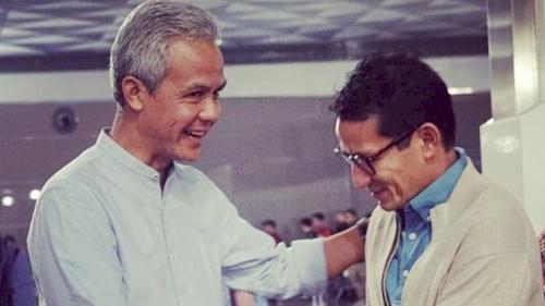 Makin Panas, Relawan Jokowi Terang-terangan Dukung Ganjar Pranowo-Sandiaga Uno untuk Maju di Pilpres 2024