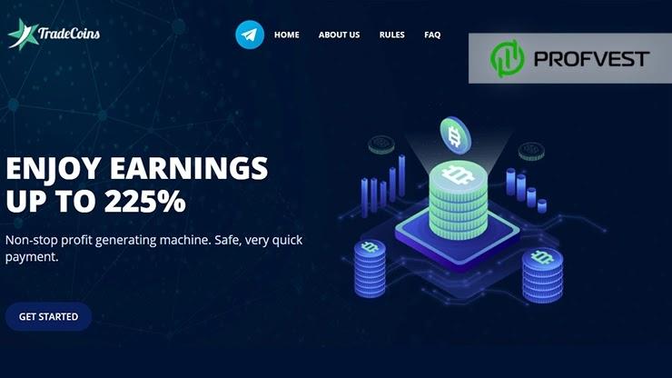 Tradecoins обзор и отзывы HYIP-проекта