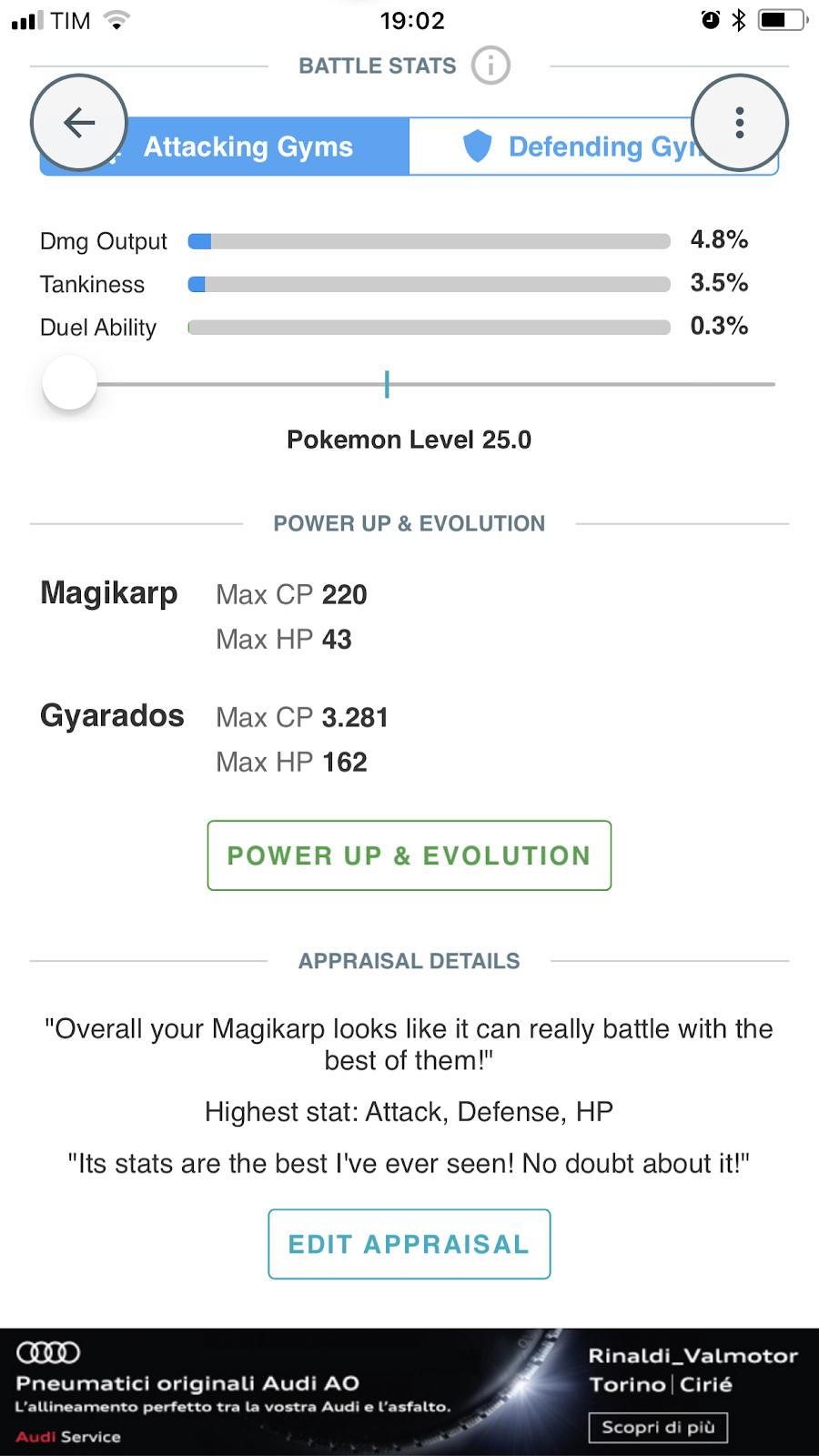 Come calcolare gli IV su Pokémon Go