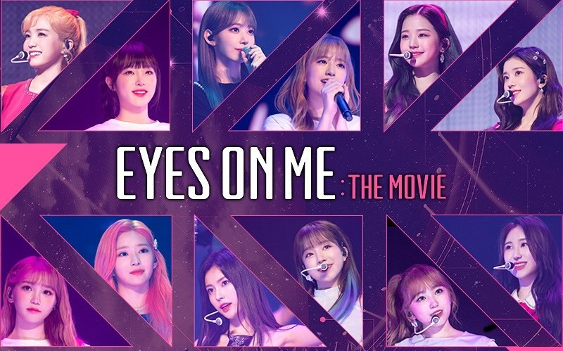 """The Airing of IZ*ONE's Concert Film """"Eyes on Me: The Movie"""" is Also Postponed"""