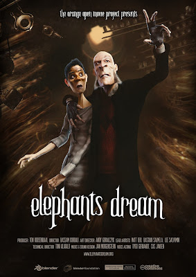 Póster Elephants Dream