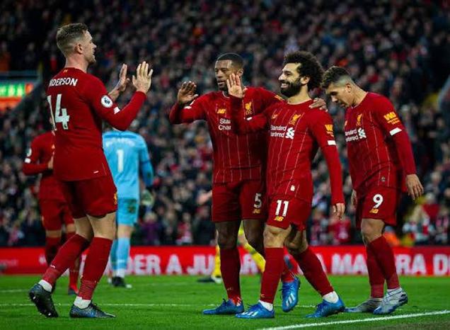 ليفربول يقترب من التتويج الغائب 6 مباريات تكفي ليفربول للفوز بالبريميرليج