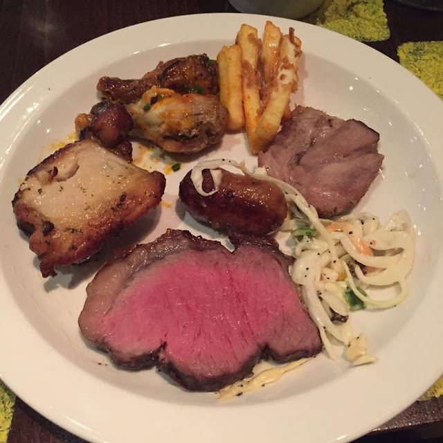 Bossa Grill, Leeds plate of food