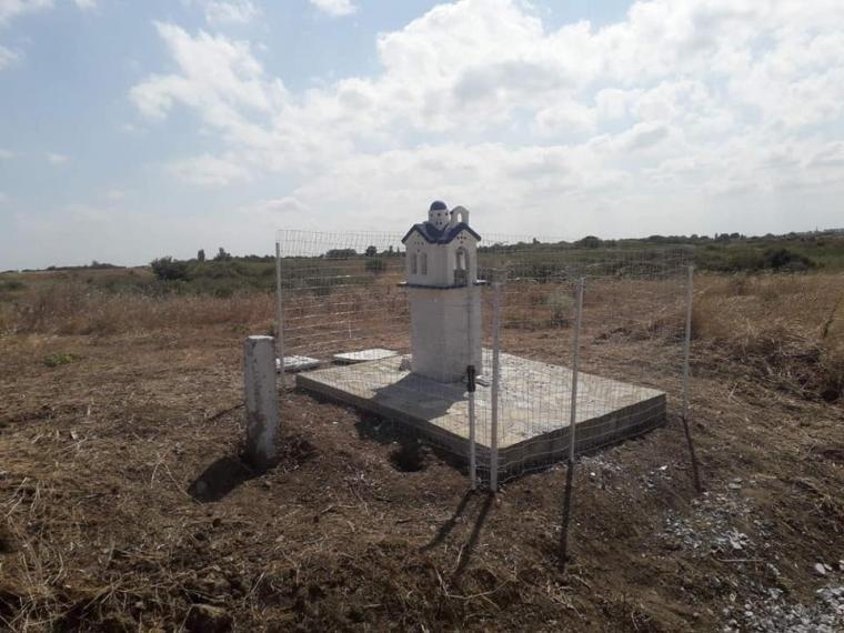 Έβρος: Συνοριοφύλακες αναστήλωσαν το εκκλησάκι που είχαν βανδαλίσει αλλοδαποί - ΦΩΤΟ