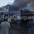 Dos casas consumidas y otras dos con daños dejó violento incendio
