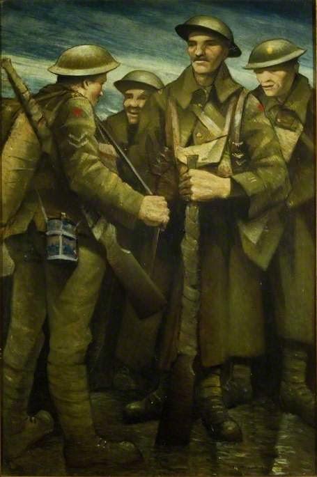 Art Contrarian Christopher Nevinson War Pantings